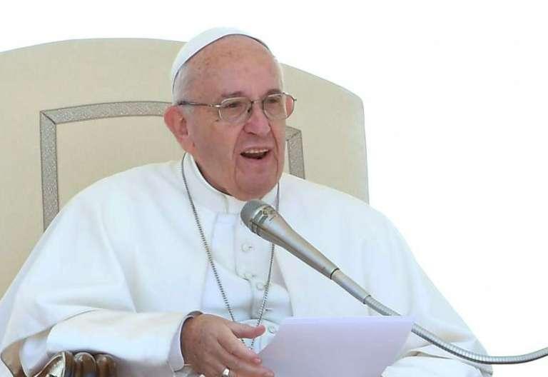 papa Francisco audiencia general miércoles 17 mayo 2017 Plaza de San Pedro Vaticano