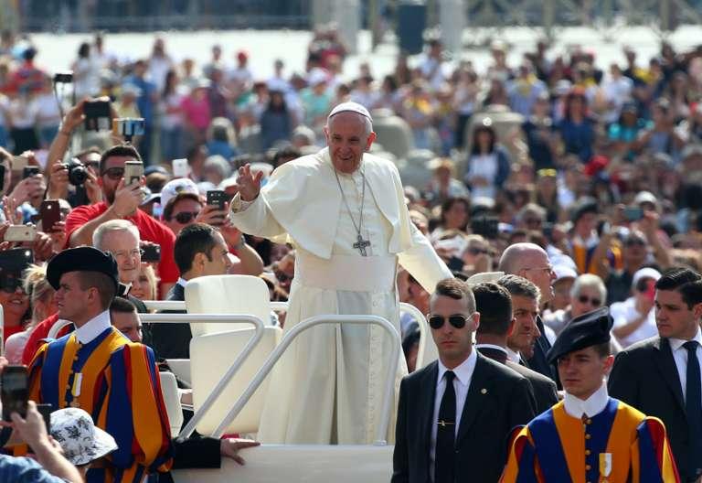 papa Francisco audiencia general miércoles 24 mayo 2017 Vaticano