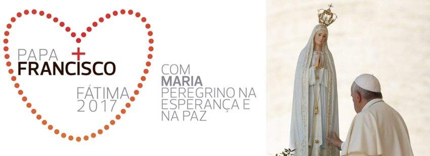 papa Francisco Portugal viaje Fátima logo visita mayo 2017 programa oficial