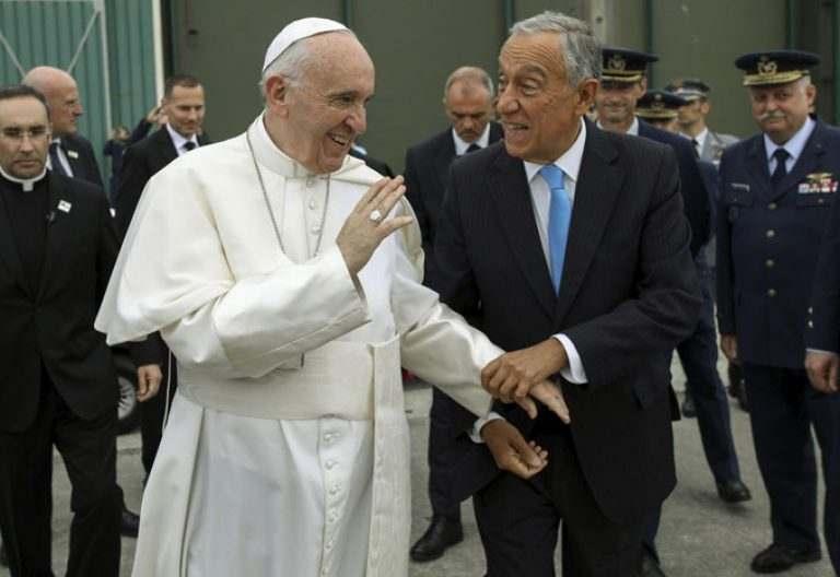 papa Francisco viaje Portugal Fátima 12 13 mayo 2017