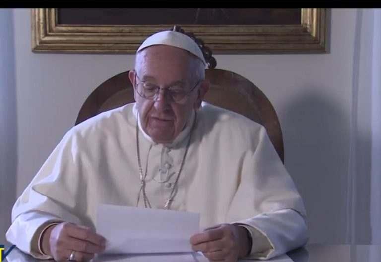 papa Francisco envía vídeo a los portugueses antes de su viaje a Fátima mayo 2017