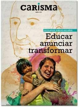 portada suplemento Carisma Escolapios jubileo 400 años publicado abril 2017 3032