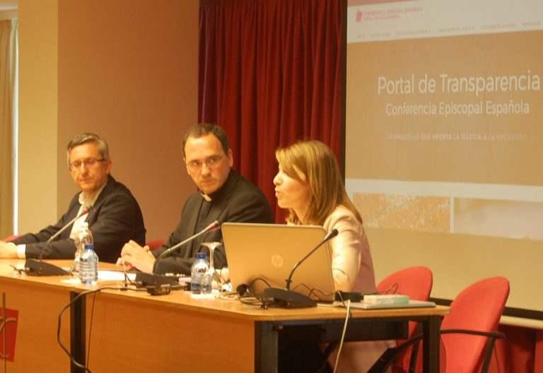 rueda de prensa de presentación del nuevo portal web Portal Transparencia Conferencia Episcopal Española CEE mayo 2017