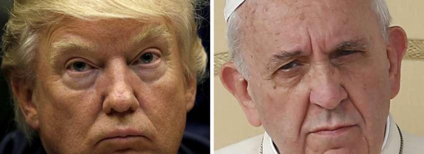 Donald Trump y el papa Francisco se reúnen en el Vaticano 24 de mayo de 2017
