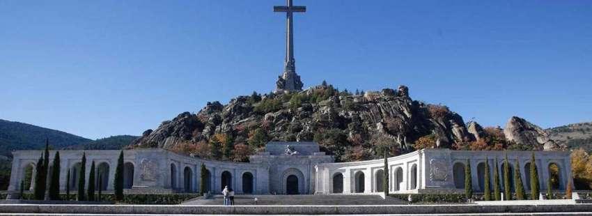 Valle de los Caídos donde está enterrado Francisco Franco en Madrid
