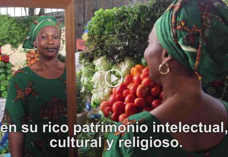 fotograma del vídeo del Papa mayo Francisco reza por los cristianos de áfrica