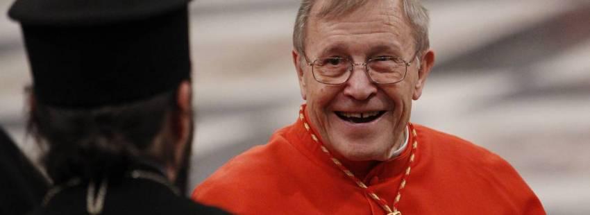 El cardenal Walter Kasper, en una imagen de archivo/CNS