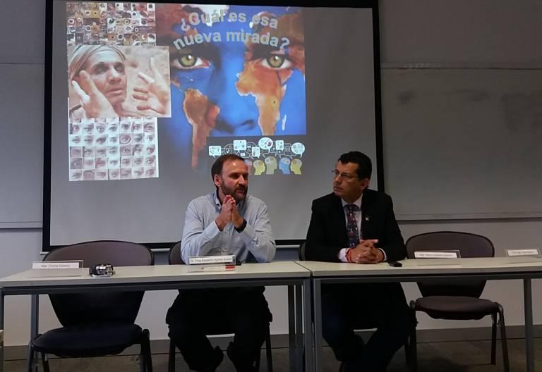 Alirio Cáceres, referente del proyecto Ecología Integral del CELAM laudato si