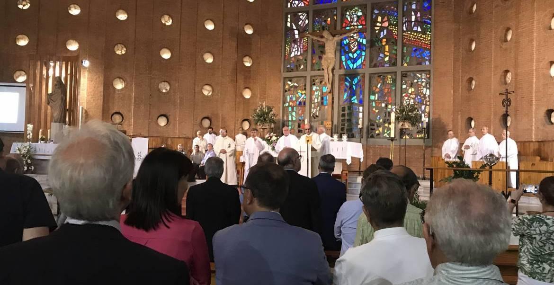Eucaristía de acción de gracias, con motivo del 80º aniversario de SM