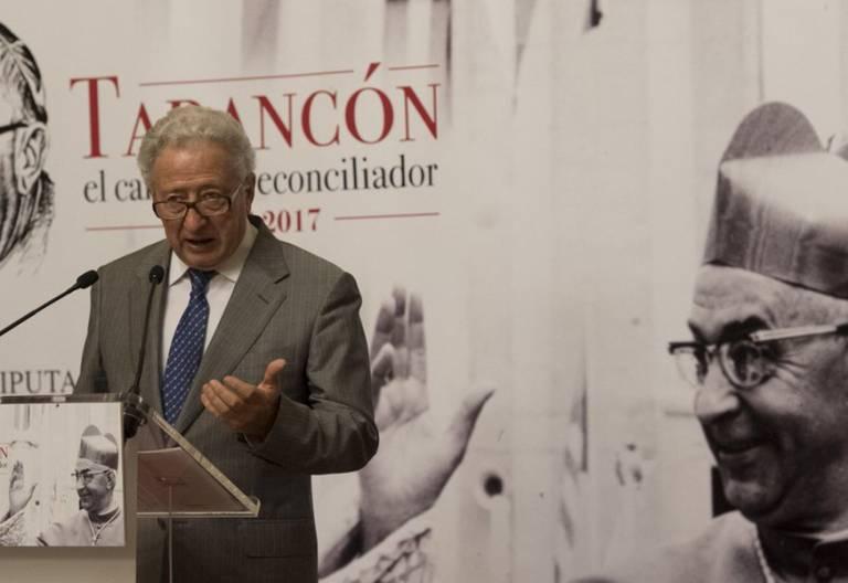 Antonio Pelayo sacerdote periodista conferencia sobre cardenal Tarancón en Castellón junio 2017