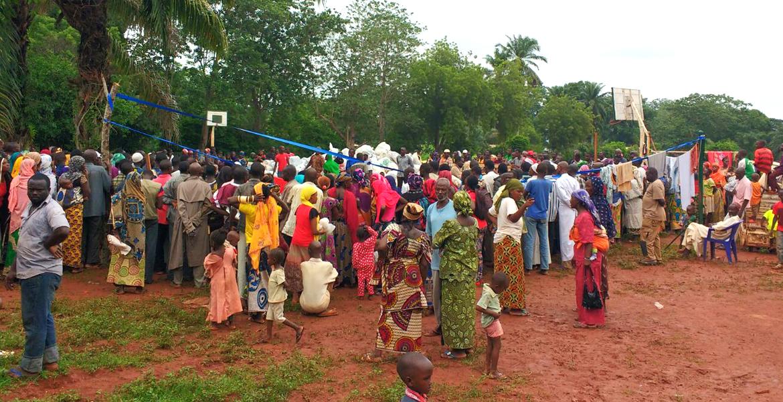 misión católica en Bangassou República Centroafricana foto de Juan José Aguirre