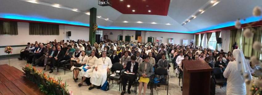 Participantes del I Encuentro Interamericano de Pastoral Educativa en Quito/CIEC