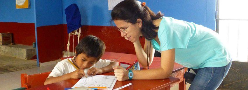 Cecilia misionera laica Perú