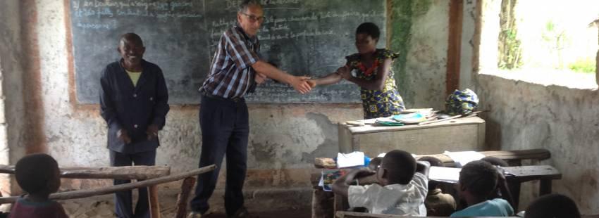 Joaquín Ciervide, misionero español en Chad