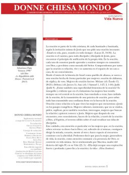 portada Donne Chiesa Mondo n 26 3042 junio 2017
