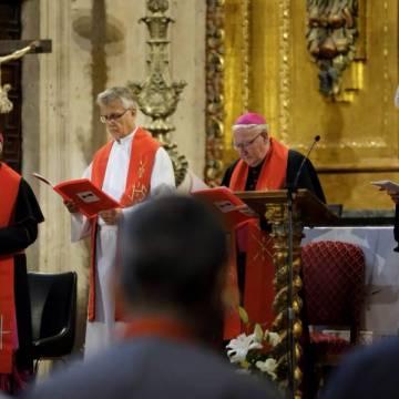 El Congreso sobre los 500 años de la Reforma en Salamanca concluye con una oración ecuménica en la Iglesia de La Clerecía