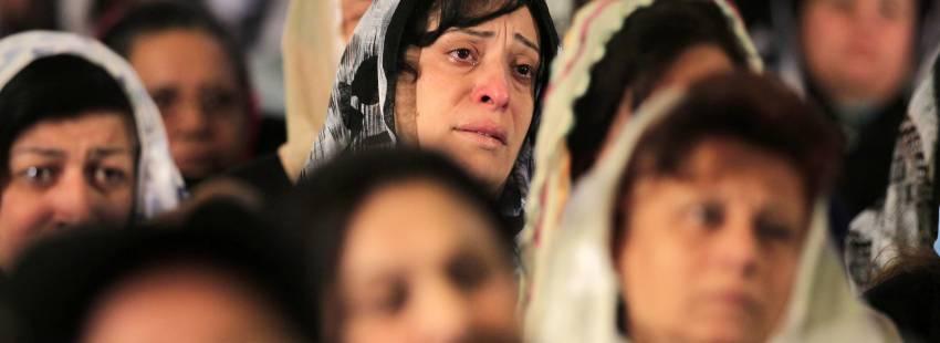 Cristianos coptos en Egipto