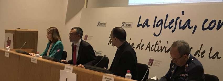 El vicesecretario de Asuntos Económicos de la CEE, Fernando Giménez Barriocanal, presenta la Memoria 2015 1 de junio de 2017