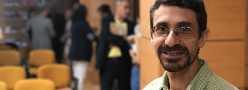 Jorge Naranjo, misionero comboniano español presentación Memoria de Actividades Ayuda Iglesia Necesitada 2016