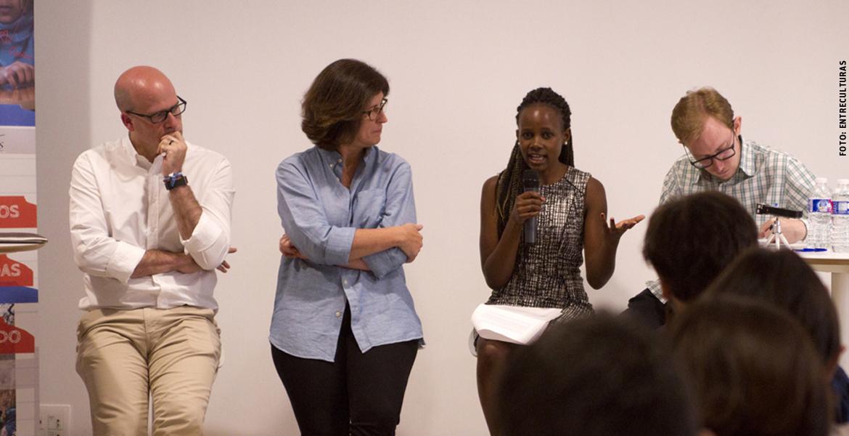 Mireille Twayigira, refugiada de Ruanda y médico en Malawi con Entreculturas junio 2017