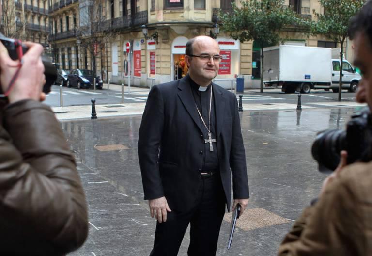 José Ignacio Munilla, obispo de San Sebastián archivo