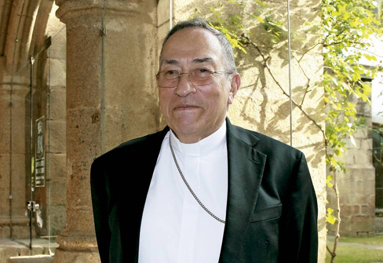 Óscar Andrés Rodríguez Maradiaga, cardenal de Honduras en IX Congreso Teológico Pastoral de Coria-Cáceres junio 2017