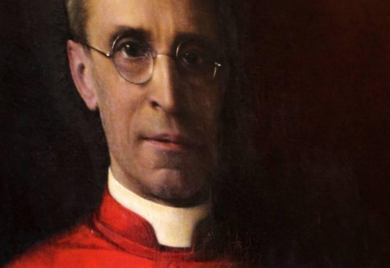 Retrato de Pío XII como cardenal Eugenio Pacelli/CNS