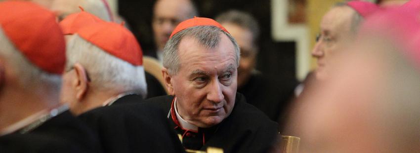 El cardenal Parolin, en una imagen de archivo 2016