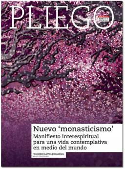 portada Pliego Nuevo monasticisimo Jornada Pro Orantibus 3039 junio 2017