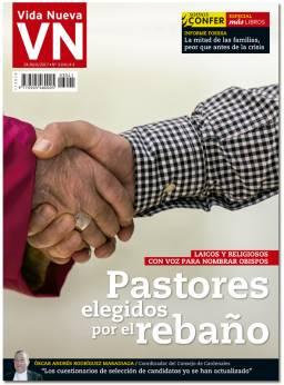 portada Vida Nueva Pastores elegidos por el rebaño 3041 junio 2017