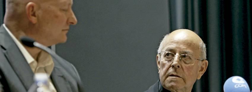cardenal Ricardo Blázquez presentación libro de Daniel Pittet víctima de abusos 2017