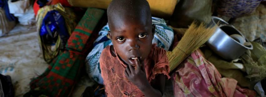 Sudán del Sur refugiados desplazados