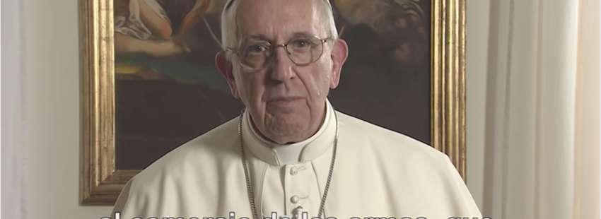 El Video del papa Francisco de junio sobre el tráfico de armas