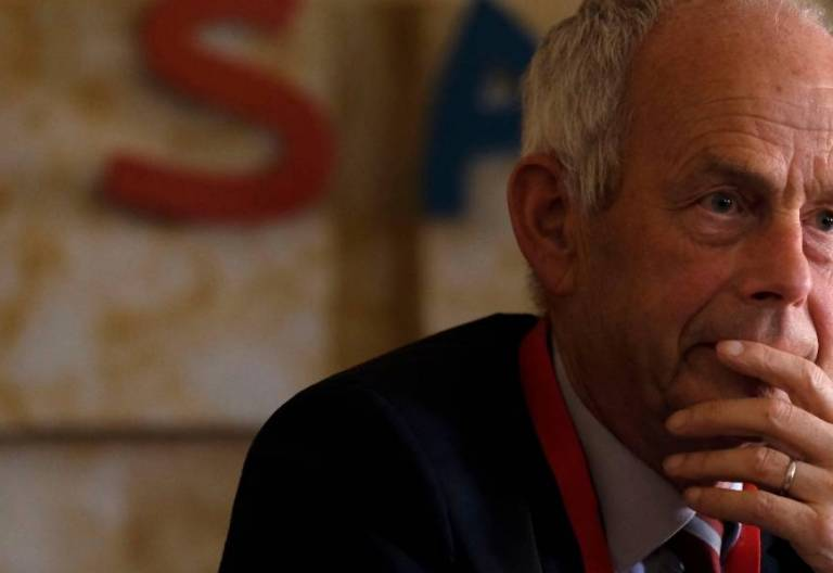 André Birmelé, experto del Centro de Estudios Ecuménicos de la Federación Luterana Mundial