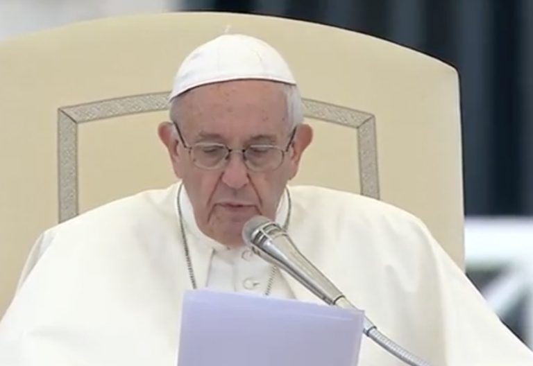 papa Francisco audiencia general 28 junio 2017