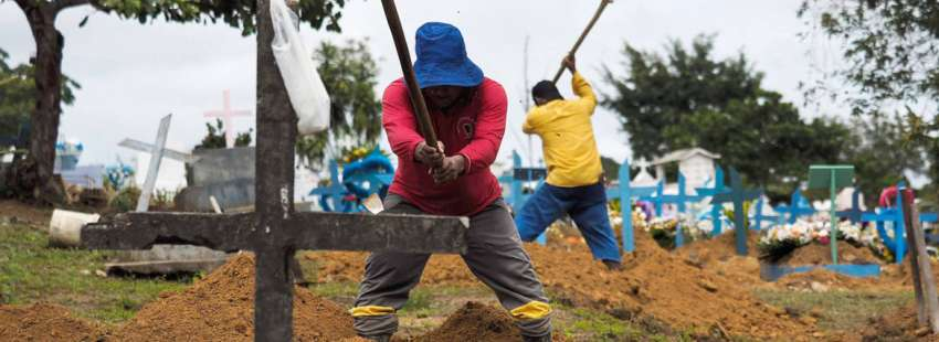 sepultureros Brasil violencia en el campo