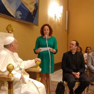 Mujeres divorciadas de Toledo, en un encuentro con Francisco arzobispado papa 26 junio 2017