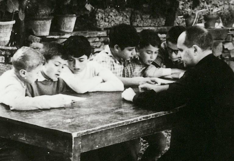 Lorenzo Milani, sacerdote y pedagogo italiano siglo XX