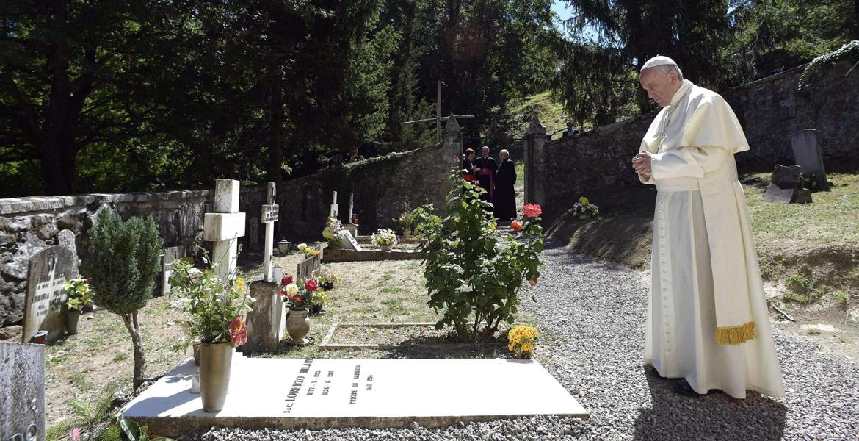 papa Francisco visita Bozzolo y Barbiana Primo Mazzolari y Lorenzo Milani 20 junio 2017