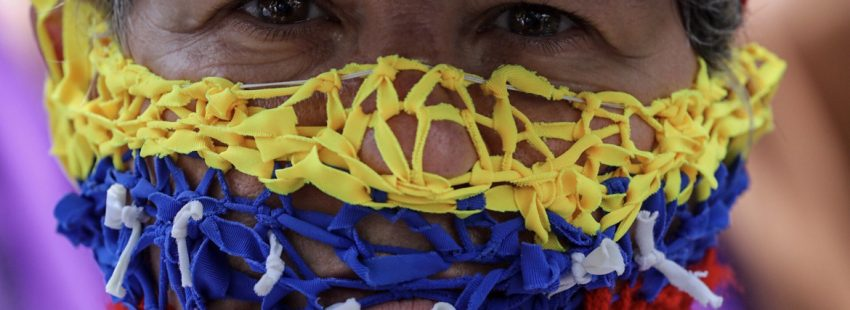 periodista Venezuela en protesta a favor de la libertad de prensa 2017