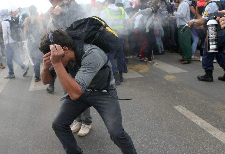 Manifestación contra el Gobierno en Brasilia, en Brasil, en diciembre de 2016/CNS