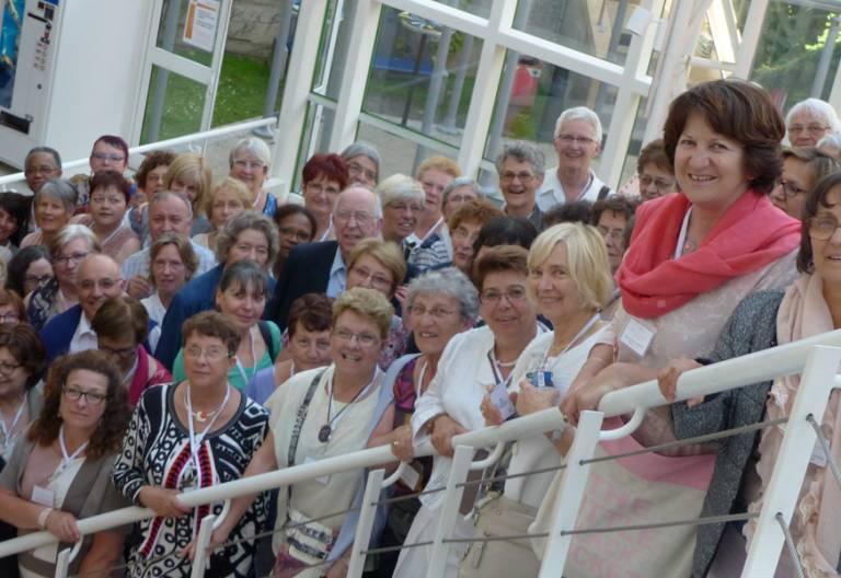 mujeres de la asociación francesa Action Catholique Des Femmes