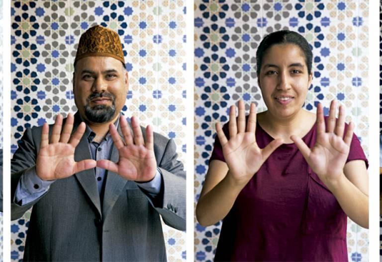 cuatro musulmanes hablan con Vida Nueva en la mezquita de San Sebastián de los Reyes Madrid