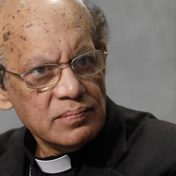 El cardenal indio Oswald Gracias, miembro del C-9/CNS