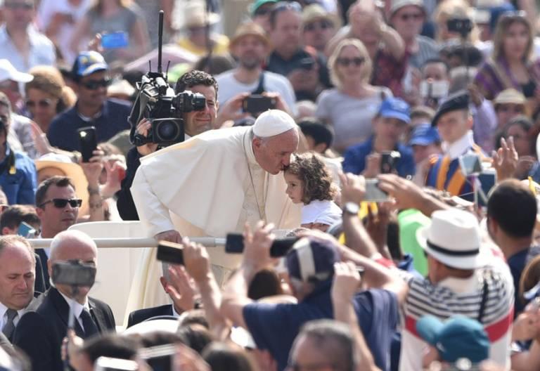 papa Francisco audiencia general miércoles 14 junio 2017