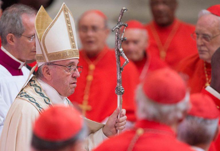 papa Francisco consistorio creación nuevos cardenales 28 junio 2017