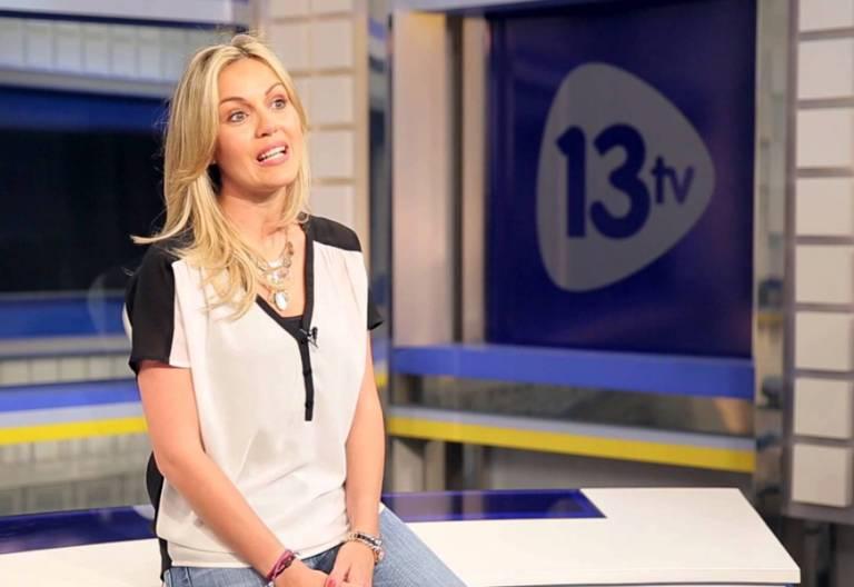 María Rodríguez-Vico, periodista presentadora en 13tv