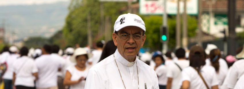 El cardenal Rosa Chávez, creado el 28 de junio 2017 obispo auxiliar San Salvador