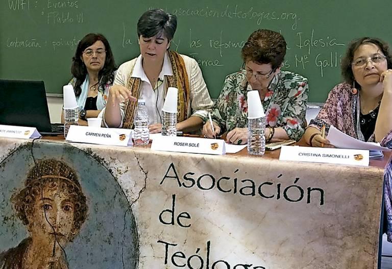 Asociación de Teólogas Españolas jornadas Mujer y diaconado junio 2017