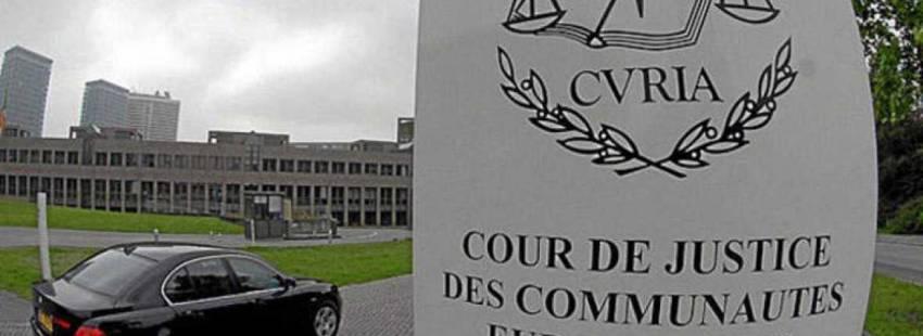Tribunal de Justicia de la Unión Europea Luxemburgo